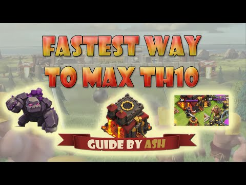 Clash Of Clans - How To Get Max TH10 Free And Fast!
