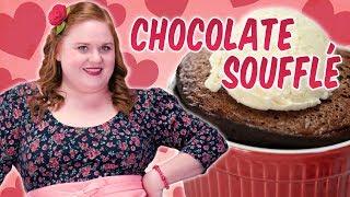 How to Make Valentine Chocolate Soufflé with Mocha Sauce | Valentine's Day Recipes | Allrecipes.com