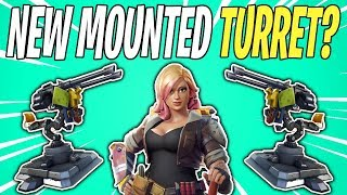NEW MOUNTED TURRETS COMING SOON? Constructor Ability Theory | Fortnite Save The World News