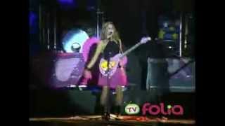 CLAUDINHA LEITTE BABADO NOVO AMOR PERFEITO - TV FOLIA 2004