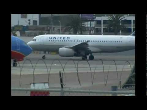 Plane Spotting at San Diego International Airport 2012