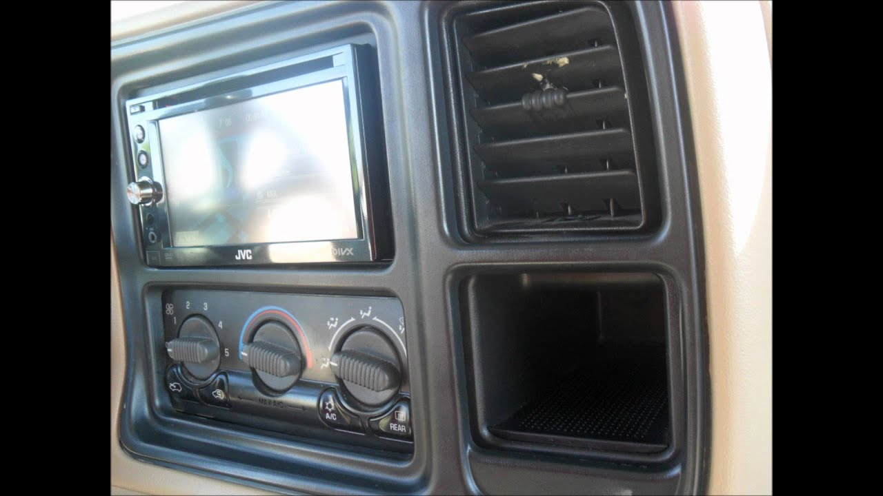 maxresdefault 2002 chevy tahoe double din install youtube  at readyjetset.co