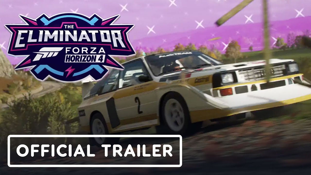 Forza Horizon 4: The Eliminator (Battle Royale de 72 jugadores) - Tráiler oficial de anuncio + vídeo