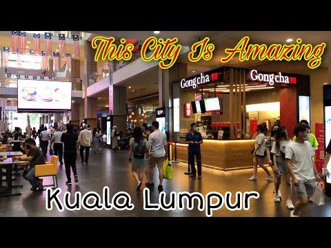 Kuala Lumpur City Starts Shining Again   Life Has Come Back   Walking Around Bukit Bintang Malaysia