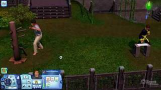 The Sims 3 World Adventures PC Games Gameplay At the Martial Arts Academy Google Chrome
