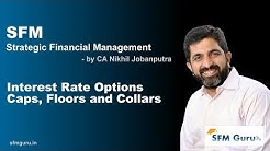 Interest Rate Options Caps, Floors and Collars - CA Final SFM (New Syllabus) Classes