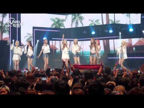 [MPD직캠] 소녀시대 1위 앵콜 직캠 PARTY Girls' Generation Fancam No.1 Encore Full Ver. Mnet MCOUNTDOWN 150716