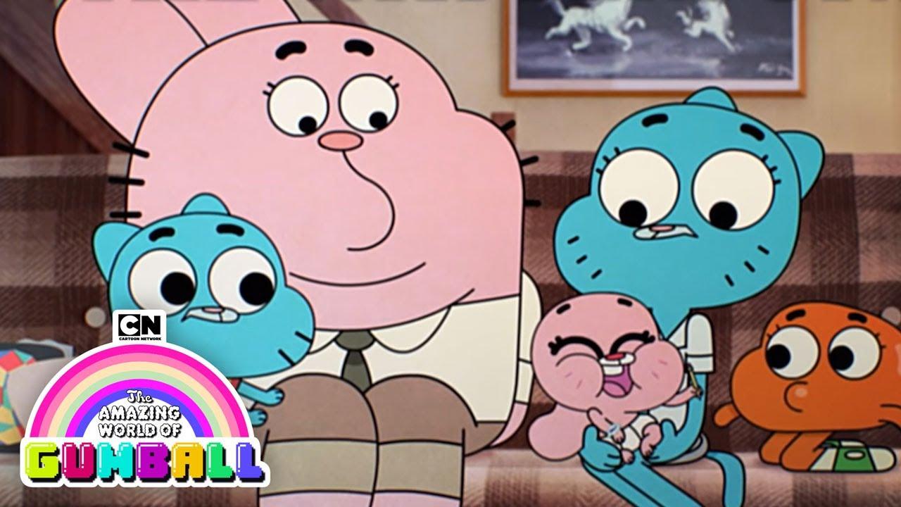 Necessary amazing world of gumball family what