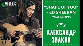 "Как играть на гитаре: ""Shape of You"" - Ed Sheeran | Разбирает Александр Зилков"