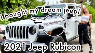 I BOUGHT MY DREAM CAR // 2021 JEEP WRANGLER RUBICON