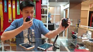 Speaker Hand Mic Zello Walkiefleet Toggle PTT HP Android Extra Speker