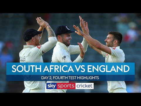 Mark Wood stars as England dominate 🌟| South Africa vs England | Day 2, 4th Test Highlights