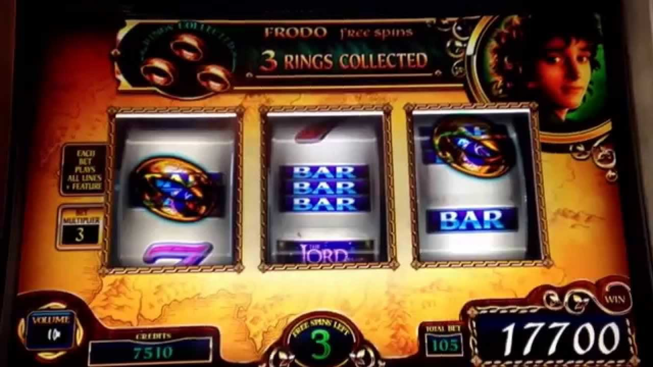 Lord Of The Rings Slot Machine Las Vegas