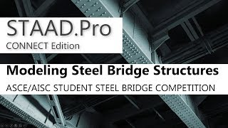 Introduction To STAAD.Pro CONNECT Edition