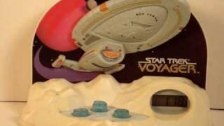 3-Star Trek Talking Alarm Clocks