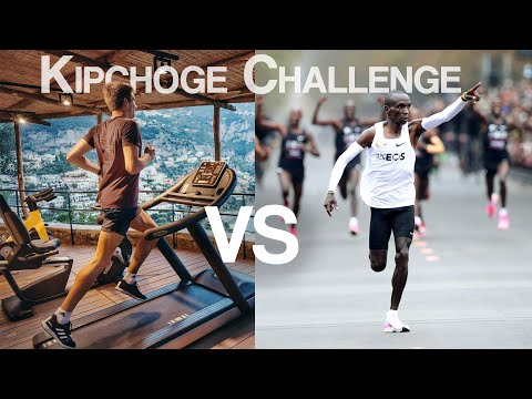 How long can we hold World Record Marathon Pace? Running the Kipchoge Challenge