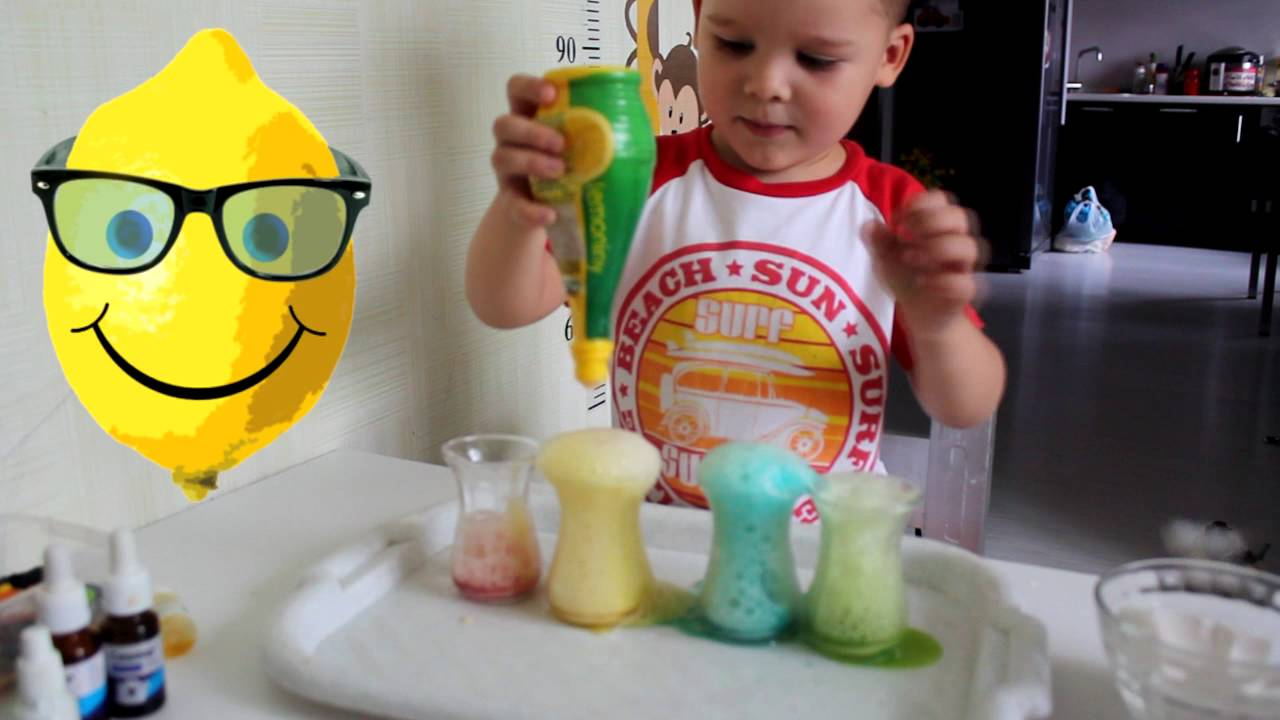 ВАУ! Опыты для детей занимательная химия в домашних ...