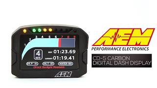 homepage tile video photo for AEM : CD-5 Carbon Digital Dash Display