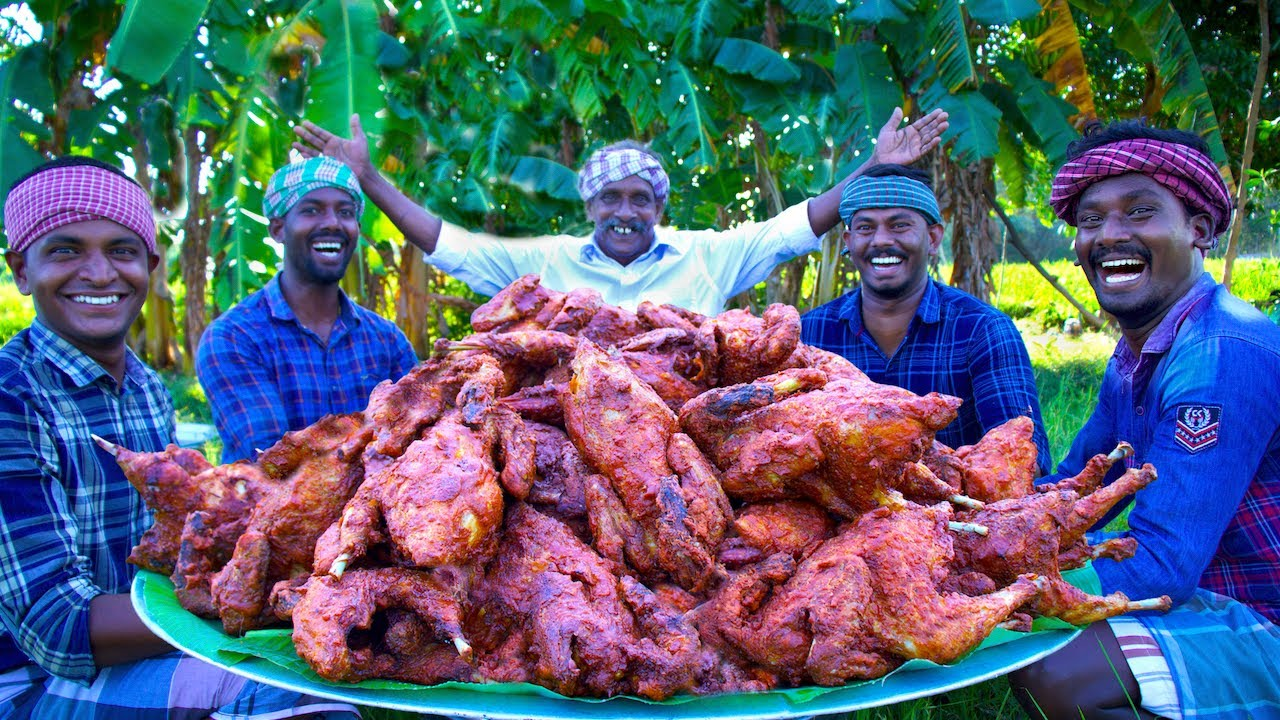 FULL CHICKEN FRY | Yummy Fried Chicken Recipe Cooking in Village | Healthy Country Chicken Recipes