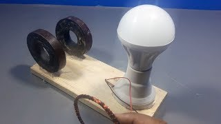 Free Energy Light Bulbs Using Magnets | science projects