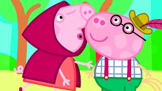 Peppa Pig Official Channel | Peppa's Kiss at the School Play