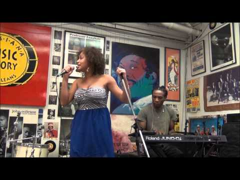Robin Barnes @ Louisiana Music Factory 2013