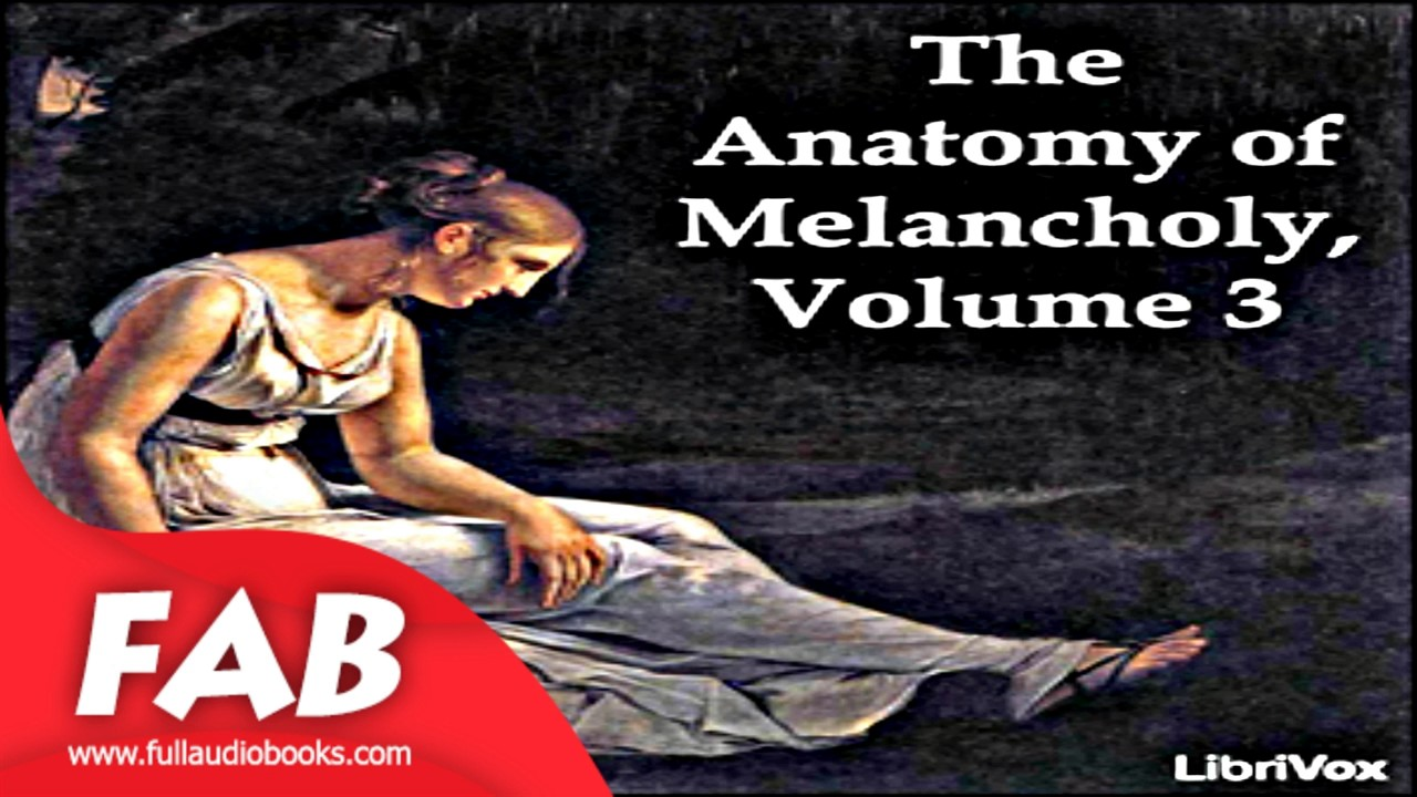 The Anatomy Of Melancholy Volume 3 Part 13 Full Audiobook By Robert