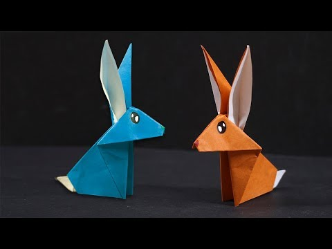 Easy #Origami Rabbit - How to Make Rabbit Step by Step