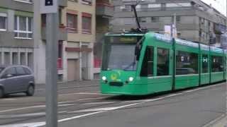 Tram Basel Teil #09 [HD+] [Tag und Nacht]