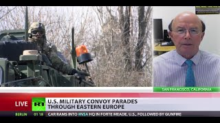 'US military parade is provocation, another aggressive step by US, NATO'