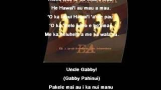 Hi'ilawe (w/ Lyrics) - Sudden Rush & Gabby Pahinui