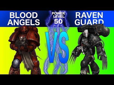 Warhammer 40k 8th Edition Live Battle Report: Blood Angels Vs. Raven Guard
