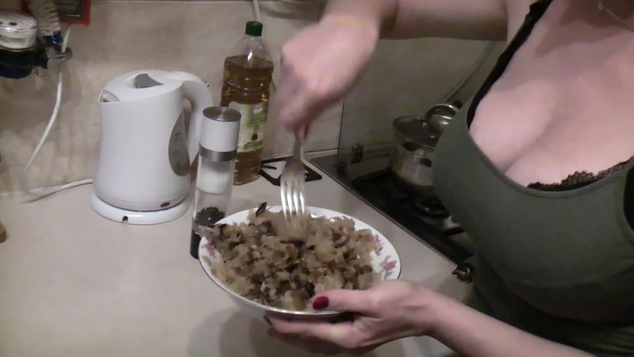 Juicy Polish Pierogi Dumplings with Sauerkraut and Wild ...