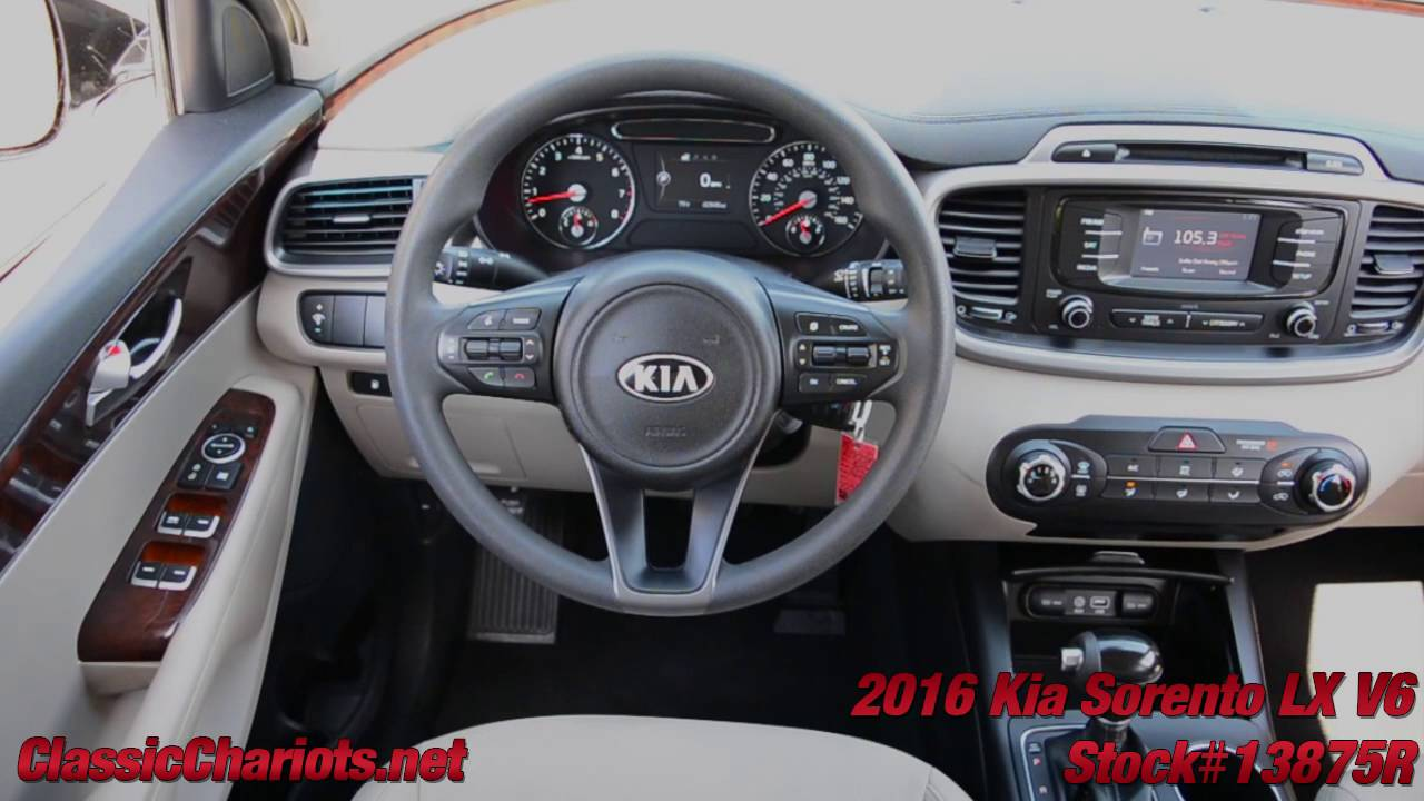 used 2016 kia sorento lx v6 3rd row seat for sale in san diego stock 13875r youtube. Black Bedroom Furniture Sets. Home Design Ideas