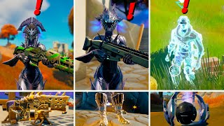 Fortnite Season 6 Bosses, Mythic Weapons Location Guide (Boss Spire Guards)