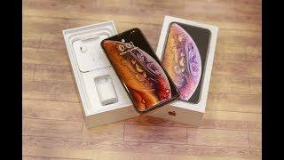 Распаковка iPhone Xs