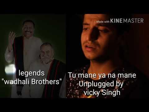 Tu mane ya na mane dildara | By wadhali brothers| unplugged by Vicky singh
