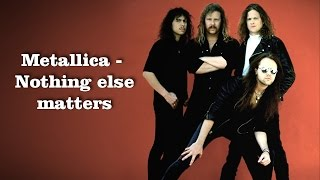 Metallica - Nothing else matters COVER