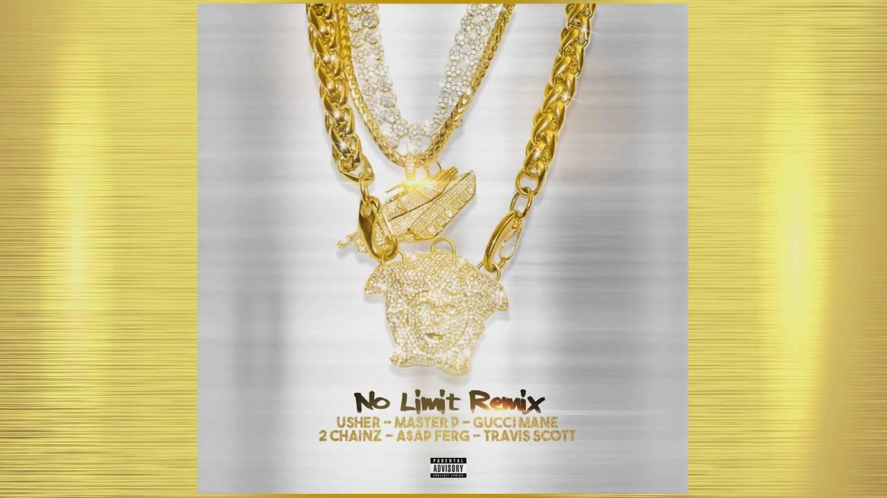 """Download Usher """"No Limit Remix"""" Master P, Gucci Mane, 2 Chainz, ASAP Ferg & Travis Scott"""