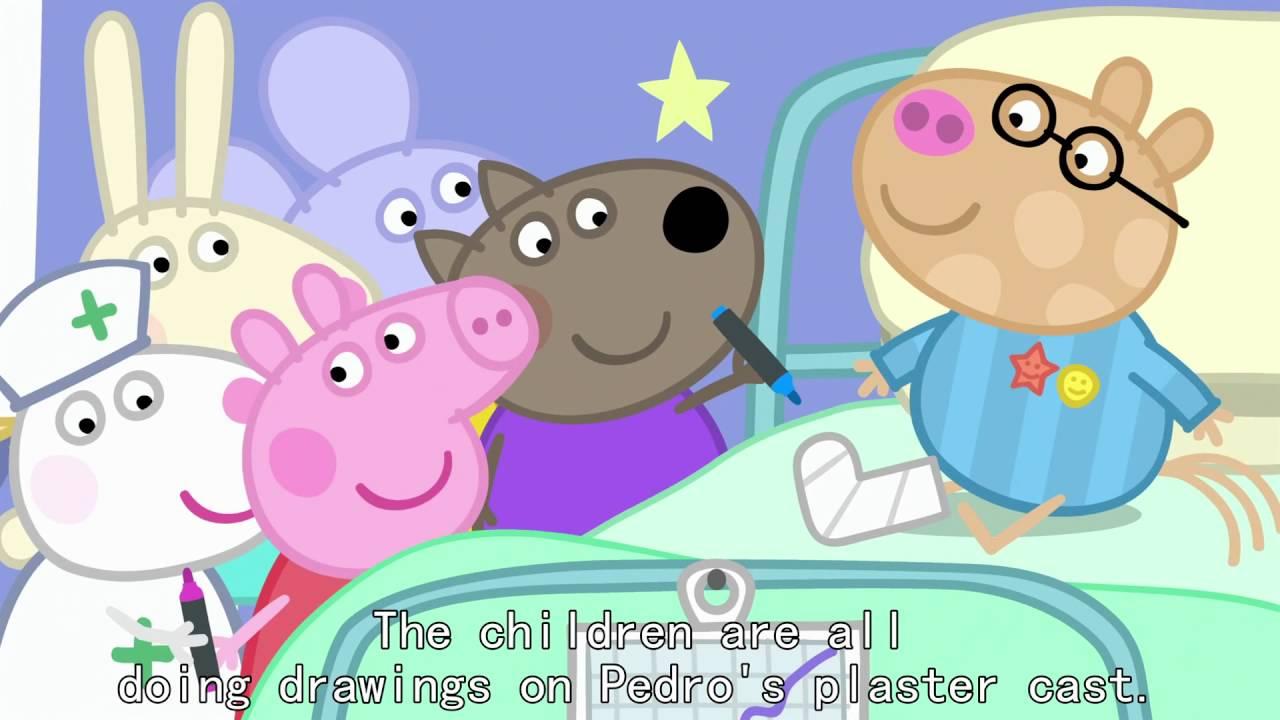Peppa Pig - Hospital (32 episode / 3 season) [HD]