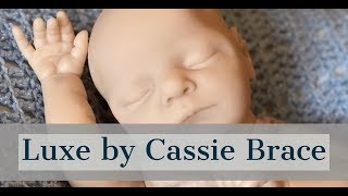 Custom made platinum silicone baby Luxe by Cassie Brace