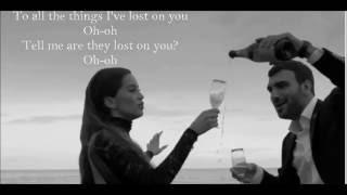 Lost On You - LP - (Lyrics Video)