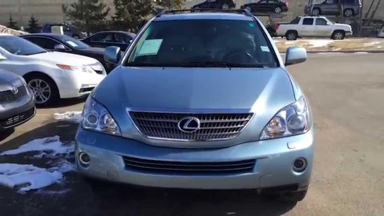 Pre Owned Breakwater Blue 2008 Lexus Rx 400h Hybrid Grand Prairie
