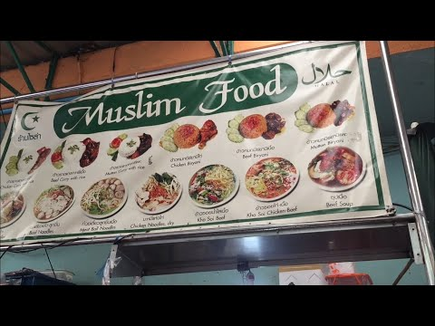 makanan-halal-yang-enak-dan-murah-di-pratunam-market,-bangkok---thailand