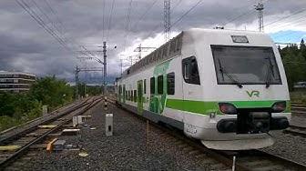 Z- juna HL 9852 Lahti-Helsinki lähtee Lahesta