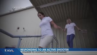 How the community can prepare for an active shooter