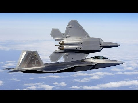 F-22 F-35 stealth flighter joint drills chinese updated military Radar US military exercise