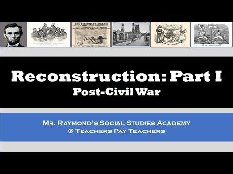 Reconstruction: Part I - APUSH & US History EOC