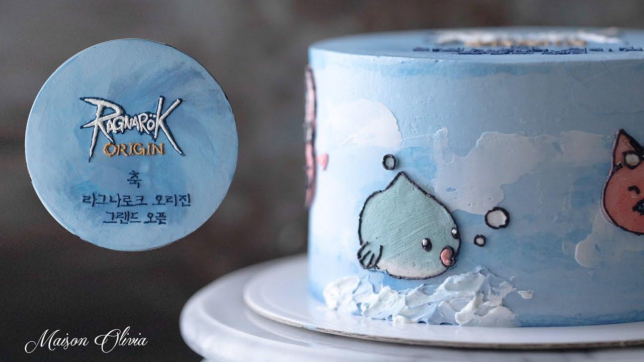 라그나로크 오리진 그랜드오픈 축하 케이크, Ragnarok Origin Character Cake