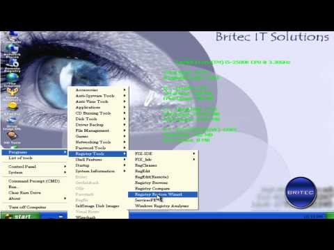 Fix Stop c0000218 Registry File Failure with UBCD4WIN by Britec